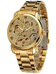 Men's Sport Watch Dress Watch Fashion Watch Wrist watch Mechanical Watch Automatic self-winding Calendar Alloy Band Charm Casual