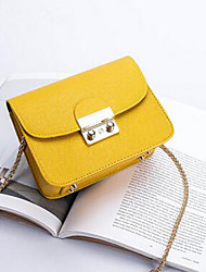 cheap -Women's Bags PU Crossbody Bag for Wedding / Event / Party / Casual Purple / Yellow / Fuchsia