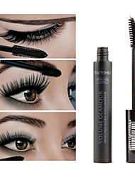 cheap -1Pcs Women Black 3D Fiber Mascara Volome Curl Thick Waterproof Eyelashes Extension Brand Makeup Maquillage