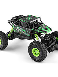 Carro com CR WL Toys 18428-B 2.4G Off Road Car Alta Velocidade 4WD Drift Car Carroça 1:18 Electrico Escovado 9 KM / H Controlo Remoto