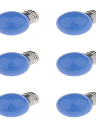 E27 LED Globe Bulbs G45 6 Dip LED 250 lm Red Blue Yellow K Decorative AC220 V