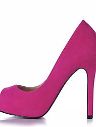 Недорогие -Черный Синий Зеленый Розовый Фиолетовый Красный Бордовый Кофе Оливковый Светло-зеленый-Женский-Свадьба Для офиса Для праздника Для