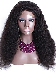 High 180% Density Brazilian Human Hair Lace Front Wigs For Black Women Wholesale Deep Wavy Lace Frontal Wig Natural Color