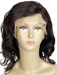 Soft Full Lace Human Hair Wigs Wavy Indian Hair Lace Wigs Glueless 100% Human Hair Wigs for Black Women