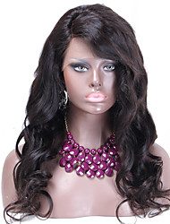 cheap -Glueless lace front wigs cheap Brazillian virgin human hair wig 100% human hair weave with baby hair