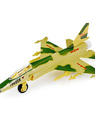 abordables -Aviones y helicópteros Empujar y jalar algún juguete 1:10 Metal Blanco Verde Gris