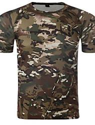 abordables -Hombre Mujer Unisex Camiseta Top Caza Listo para vestir Transpirable Cómodo Verano