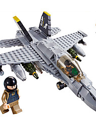 cheap -GUDI Building Blocks 284 pcs Tank Plane / Aircraft Professional Level Cool Boys' Girls' Toy Gift