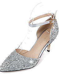 cheap -Women's Heels Spring Summer Fall Winter Comfort Novelty PU Synthetic Wedding Office & Career Party & Evening Dress Casual Stiletto Heel