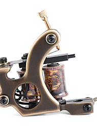 solong Tätowierung benutzerdefinierte Messing Tattoo Maschinengewehr handgefertigt 12 wickeln reine Kupferspulen für Liner m202-1