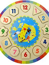 Puzzle Costruzioni Gioco educativo Puzzle Costruzioni Giocattoli fai da te Circolare Legno Nuovi giochi