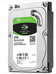 abordables -Seagate 2 To Disque dur de bureau 7200rpm SATA 3.0 (6Gb / s) 64Mo cachetteBarraCuda