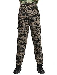 Недорогие -Камуфляжные брюки для охоты Муж. Жен. Универсальные Пригодно для носки Легкие материалы камуфляж Нижняя часть для Охота