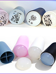 cheap -1 pcs 3D Nail Acrylic Molds Nail Jewelry Stamping Plate nail art Manicure Pedicure Daily Abstract / Fashion
