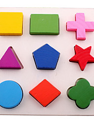 preiswerte -Puzzles Bildungsspielsachen Bausteine Spielzeug zum Selbermachen 1 Holz Regenbogen Freizeit Hobbys