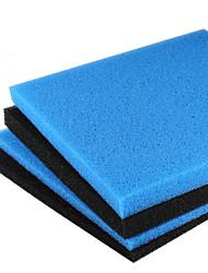 cheap -Aquarium Foam/Sponge Filter 45x45cm Universal Black Filtration Foam Fish Tank Biochemical Filter Pad