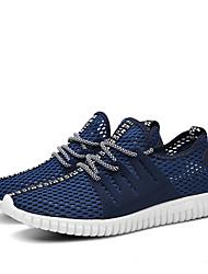 Sneakers-Syntetisk Tyl-Komfort-Herre-Grå Marine Militær Grøn-Fritid-Lav hæl