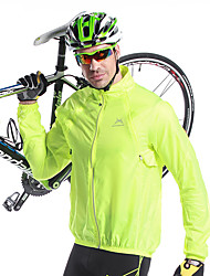 cheap -Mysenlan Cycling Jacket Men's Bike Jacket Top Bike Wear Thermal / Warm Quick Dry Windproof Ultraviolet Resistant Rain-Proof Solid Camping