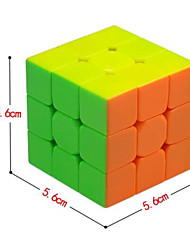 cheap -Rubik's Cube QI YI 3*3*3 Smooth Speed Cube Magic Cube Puzzle Cube Gift Classic & Timeless Girls'
