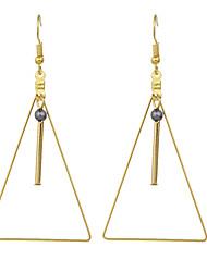 billige -Dame Dråbeøreringe Legering Smykker Guld Afslappet Kostume smykker