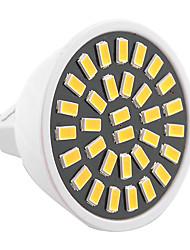 GU5.3(MR16) Faretti LED MR16 32 leds SMD 5733 Decorativo Bianco caldo Luce fredda 500-700lm 2800-3200/6000-6500K AC 220-240 AC 110-130V