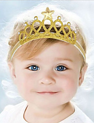 cheap -Kid's Cute Baby  Knitting Turban  Star Crown Headbands