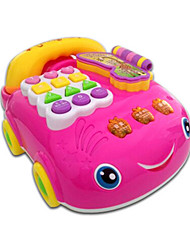 cheap -Toy Phones Plastic Pink 2 to 4 Years 5 to 7 Years