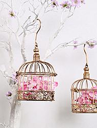 Uccello A rete Acciaio Inox Nero Oro