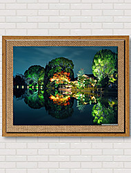The Explosion Of Linen Inkjet Printing Art Office Room Corridor Hotel Decorative Painting Landscape Photography