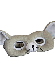Недорогие -Маски на Хэллоуин Животная маска Мягкие и плюшевые игрушки Игрушки Мышь Плюш Ужасы Мультяшная тематика 1 Куски Универсальные День