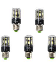 5 pcs 40smd 5736 5 w e27 led maïs lumières 480lm chaud / froid blanc courant constant anti-stroboscopes ac85-265v