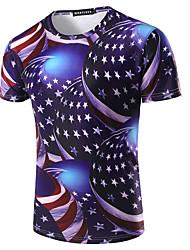 メンズ 3D Tシャツ