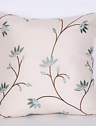 cheap -1Pc 45*45Cm Pale Green Leafpattern  Pillow Case Home Furnishing Decoration