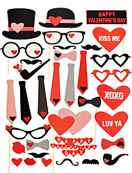 Wedding Anniversary Engagement Valentine Valentine's Day Wedding Party Hard Card Paper Wedding Decorations