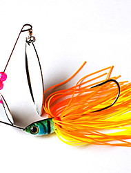 cheap -2 pcs Fishing Lures Hard Bait  g/Ounce mm inch,Plastic Metal General Fishing