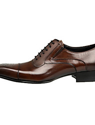 Da uomo Scarpe Di pelle Primavera Estate Autunno Inverno Comoda Innovativo Oxfords Footing Lacci Più materiali Per Matrimonio Serata e