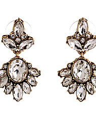 cheap -Drop Earrings Crystal Crystal Alloy Jewelry White Party Daily Casual Costume Jewelry