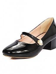 Недорогие -Для женщин Обувь на каблуках Удобная обувь Оригинальная обувь Дерматин Полиуретан Весна Лето Осень ЗимаСвадьба Повседневные Для вечеринки