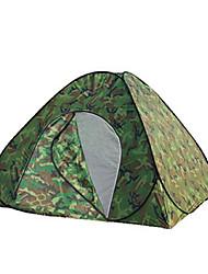 3-4 Pessoas Tenda Único Barraca de acampamento Um Quarto Barracas para Acampamento Família Prova-de-Água para Equitação Campismo Viajar