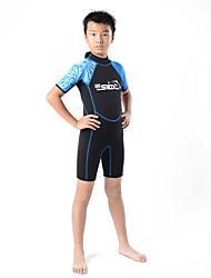 SLINX® Men's Kid's 2mm Wetsuits Dive Skins Waterproof Breathable Thermal / Warm Quick Dry Windproof Tactel Coolmax Corduroy Memory Foam