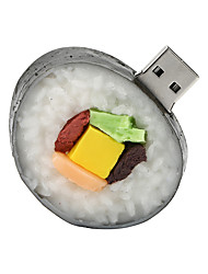 16GB Sushi Rubber USB2.0 Flash Drive Disk