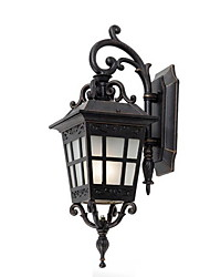 cheap -Classic Retro European Aisle Waterproof Ourdoor Balcony Wall Lamp