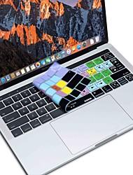 Недорогие -xskn® Final Cut Pro X кожа силиконовая клавиатура и сенсорной панели протектор для 2016 года нового Macbook Pro 13,3 / 15,4 с баром