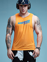Aimpact Fitness Mens Tank Tops Sexy Bodybuilding Clothing Low Cut Armholes Activewear Summer Singlets Crossfit Workout Tops Gym Sport Tank Tops AD55