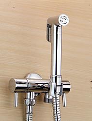 abordables -Clásico Ducha de mano Cromo Característica - Ecológica, Alcachofa de la ducha