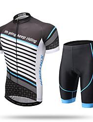 Недорогие -XINTOWN Велокофты и велошорты Муж. Жен. Универсальные С короткими рукавами Велоспорт Брюки Джерси Шорты Верхняя часть Наборы одежды
