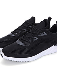 cheap -Men's Light Soles Customized Materials Spring / Summer / Fall Comfort Athletic Shoes Walking Shoes Slip Resistant Gray / Red / Blue