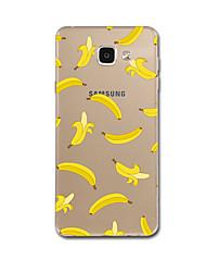preiswerte -Hülle Für Samsung Galaxy Ultra dünn / Muster Rückseite Frucht Weich TPU für A7(2016) / A5(2016)