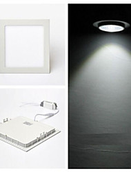 LED Ceiling Lights LED Panel Lights Recessed Retrofit 60 leds SMD 2835 Cold White 900lm 6000-6500K AC 85-265V