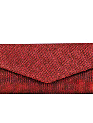 cheap -Women's Bags Satin Evening Bag Tri-fold for Wedding Event/Party Formal All Seasons Gold Black Silver Red